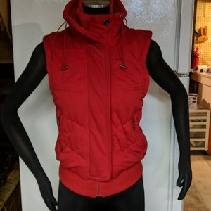 Red insulated vest